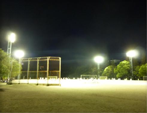 下関運動公園照明塔改修工事
