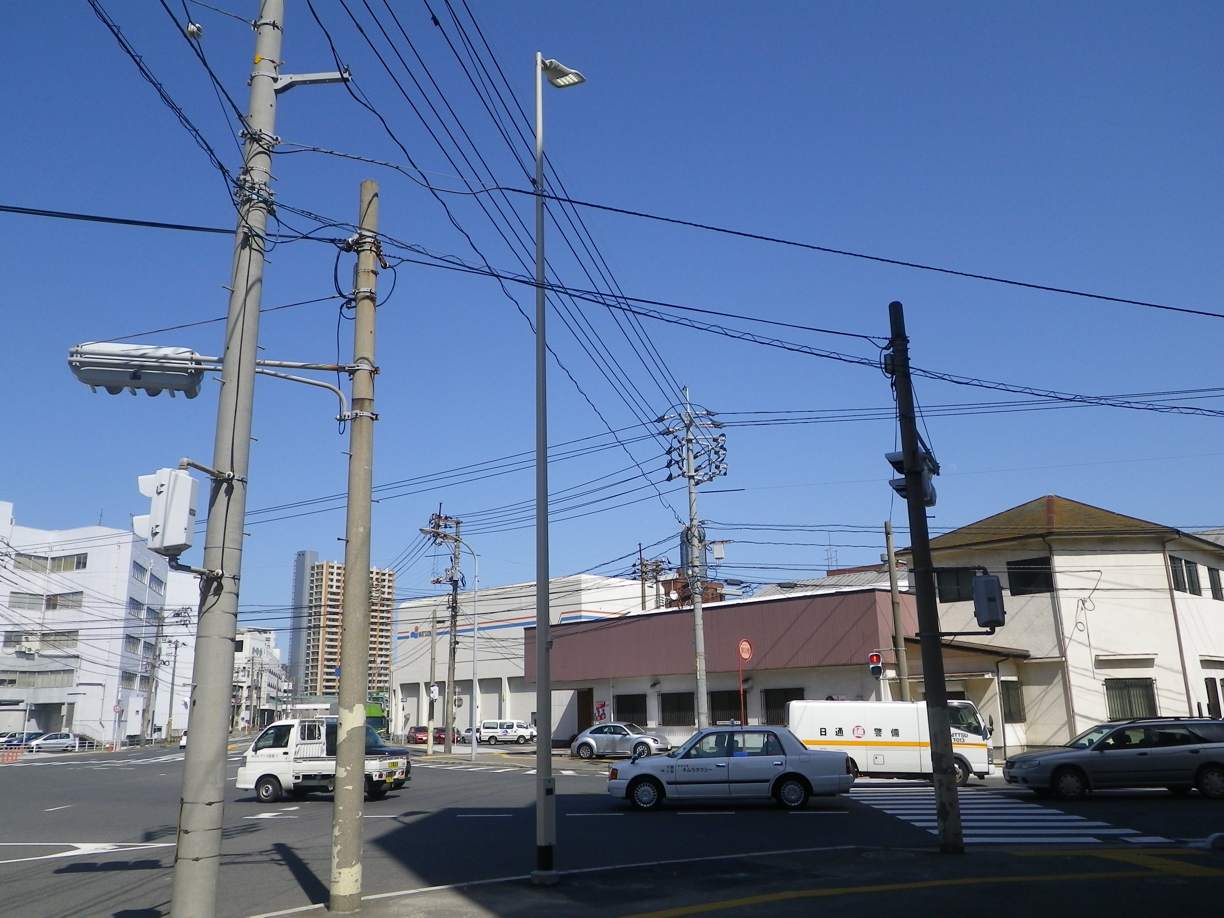 本港地区道路(改良)整備電気工事の画像3