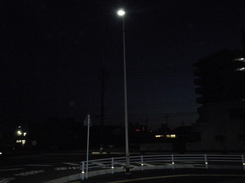 本港地区道路(改良)整備電気工事の画像4