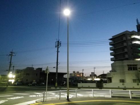 本港地区道路(改良)整備電気工事の画像2