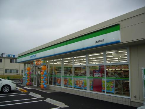 ファミリーマート小郡前田店新築電気工事の画像2